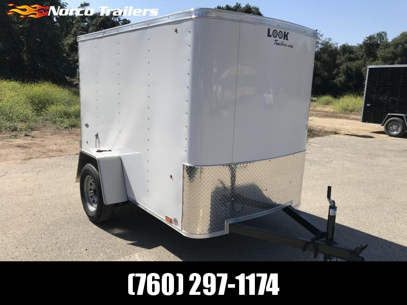 2019 Look Trailers STLC 5' x 8' Cargo / Enclosed Trailer