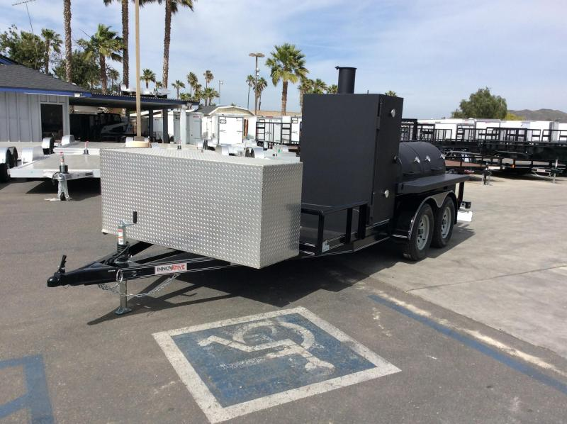 2019 Innovative Trailer Mfg. 14' Smoker Trailer Utility Trailer