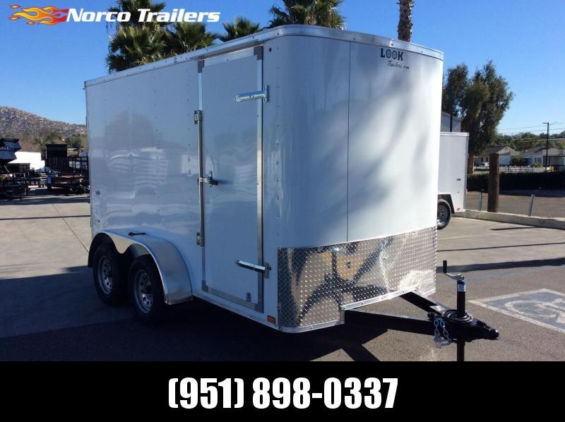 2021 Look Trailers STLC 6' x 12' Tandem Axle Enclosed Cargo Trailer