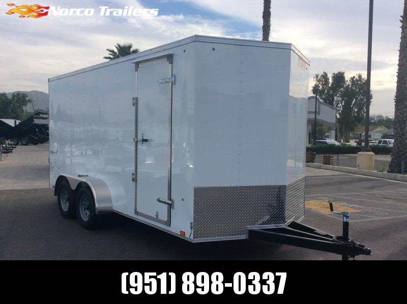 2019 Pace American Outback 7' x 16' Tandem Axle Enclosed Cargo Trailer