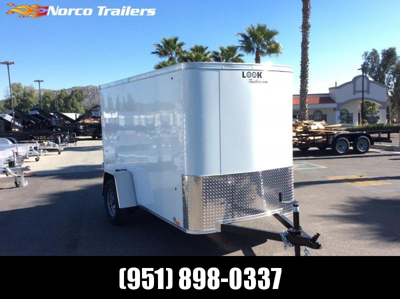 2019 Look Trailers STLC 5' x 10' Single Axle Enclosed Cargo Trailer