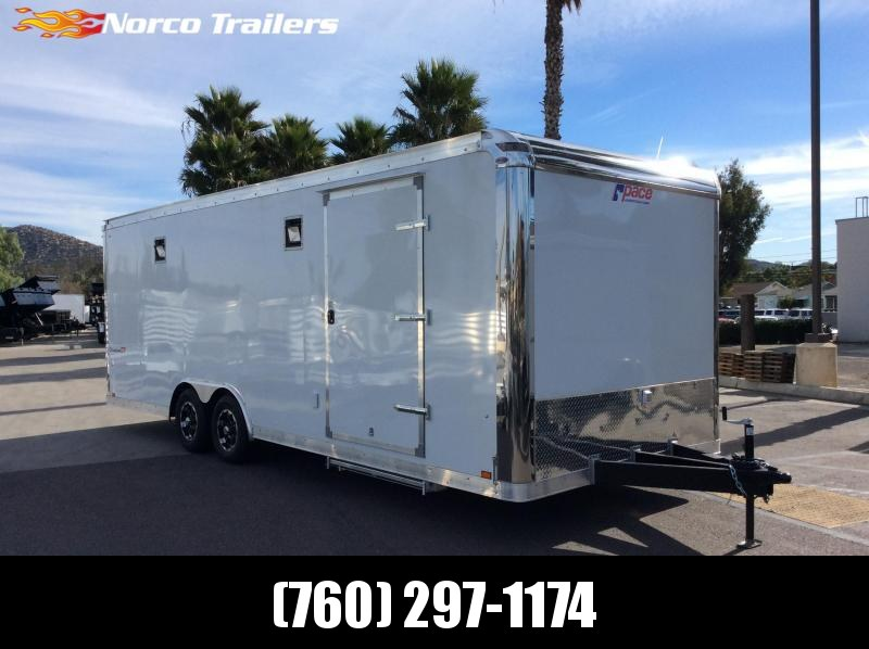 2020 Pace American SCX 8.5 x 24 Car / Racing Trailer