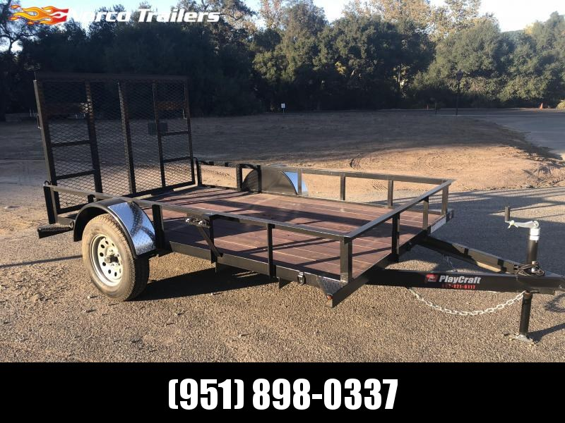 2018 Playcraft 6' x 10' Utility Trailer