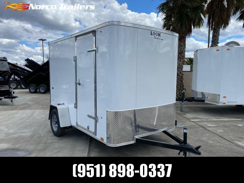 2021 Look Trailers STLC 6' x 10' Single Axle Enclosed Cargo Trailer