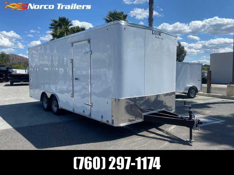 2021 Look Trailers ST 8.5 x 20 Tandem Axle Car / Racing Trailer