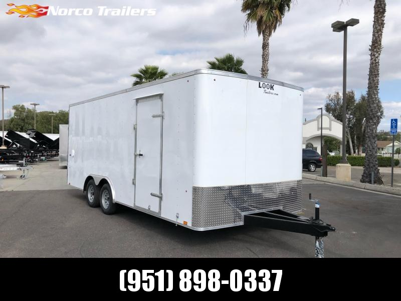 2021 Look Trailers ST 8.5' X 20' Tandem Axle Car / Racing Trailer
