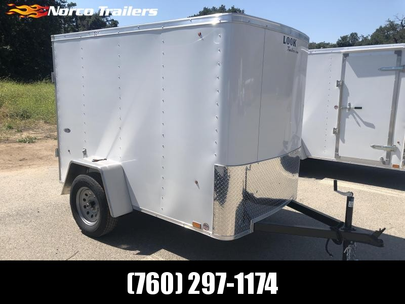 2020 Look Trailers STLC 5' x 8' Enclosed Cargo Trailer