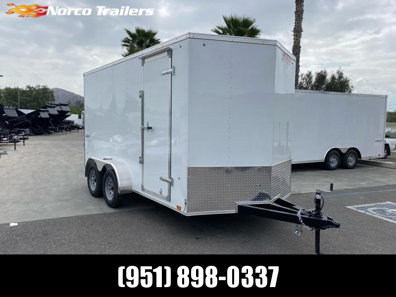 2021 Pace American Outback 7' x 14' Tandem Axle Enclosed Cargo Trailer