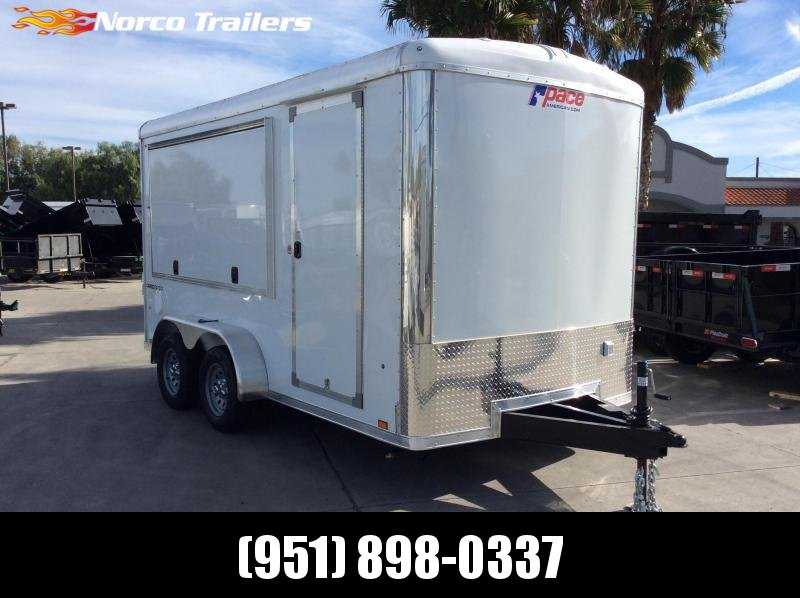 2021 Pace American Cargo Sport 7' x 14' Tandem Axle Vending / Concession Trailer