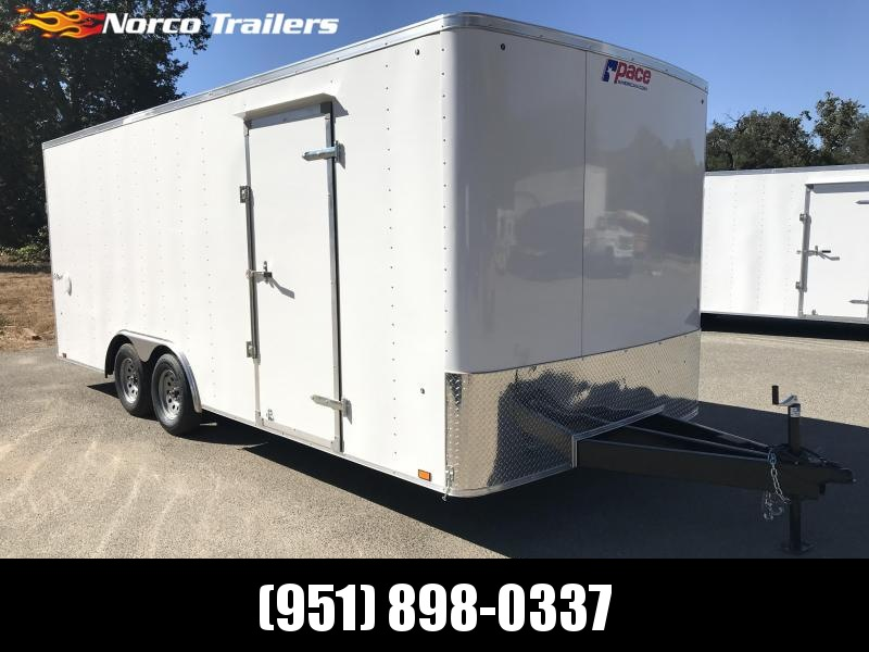 2020 Pace American Outback 8.5' x 20' 7K Car / Racing Trailer