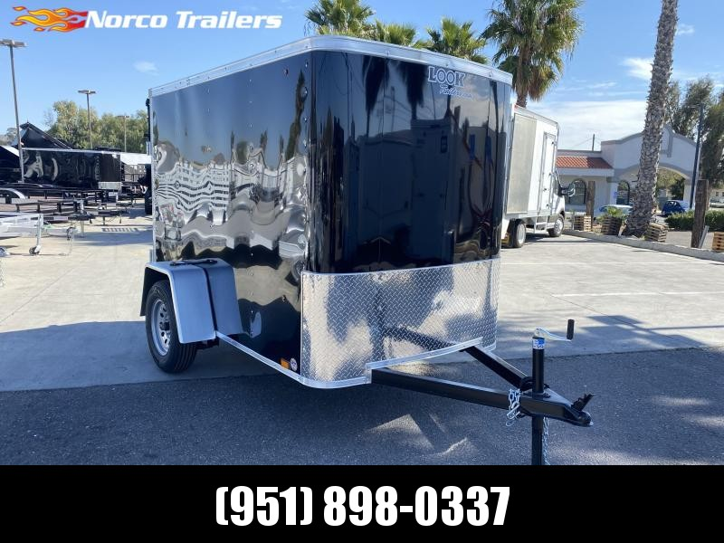 2021 Look Trailers STLC 5' x 8' Single Axle Enclosed Cargo Trailer