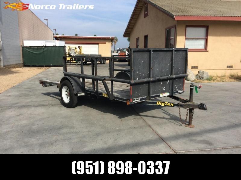 2004 Big Tex Trailers 5' x 12' Single Axle Utility Trailer