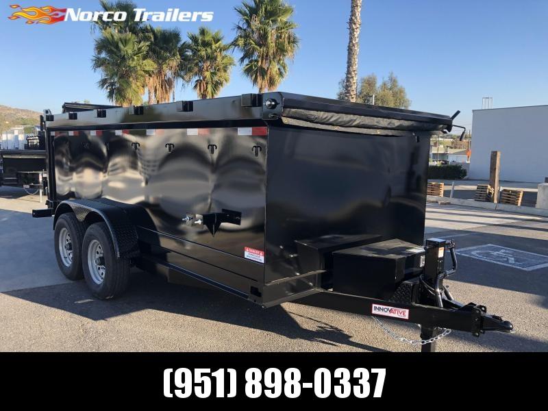 "2020 Innovative Trailer Mfg. 83"" x 14' Tandem Axle Dump Trailer"