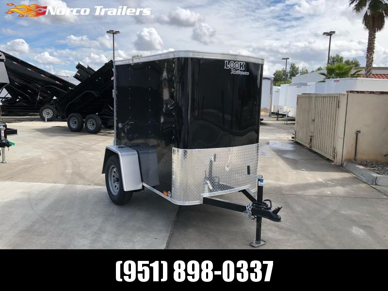 2021 Look Trailers STLC 4' X 6' Single Axle Enclosed Cargo Trailer