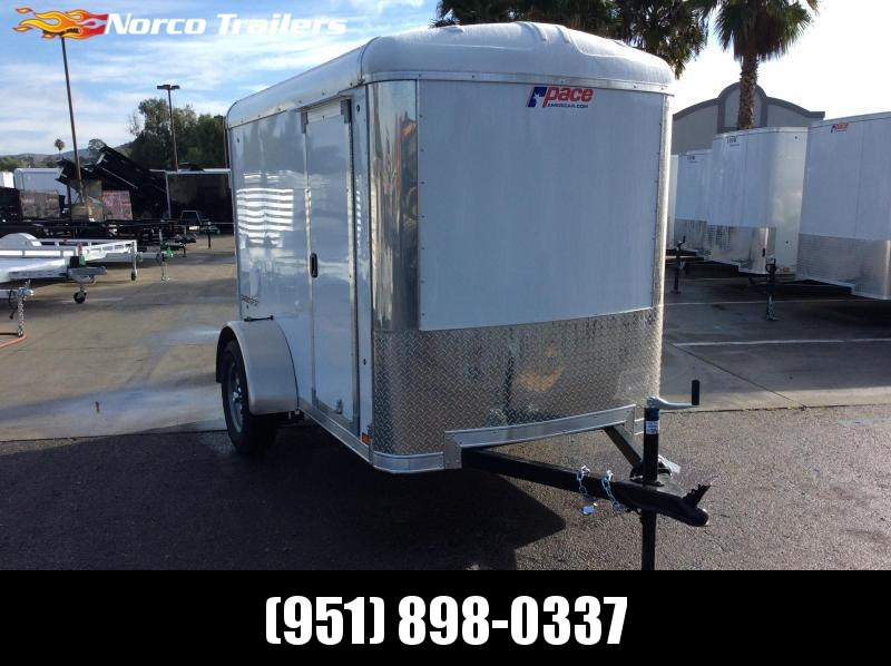 2020 Pace American Cargo Sport 5' x 8' Single Axle Enclosed Cargo Trailer
