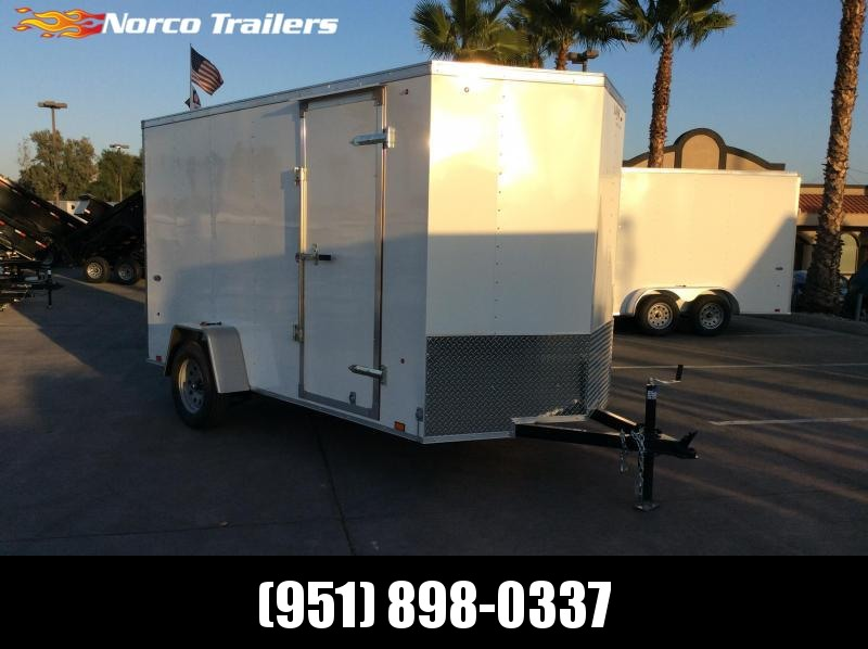 2019 Look Trailers STVLC 6' x 12' Single Axle Enclosed Cargo Trailer