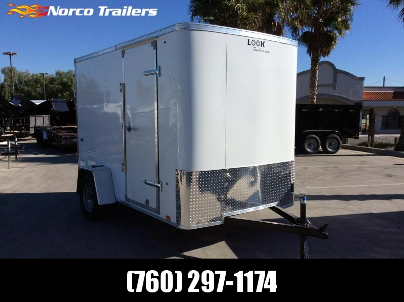 2021 Look Trailers STLC 6' x 10' Single Axle Enclosed Cargo Trailer