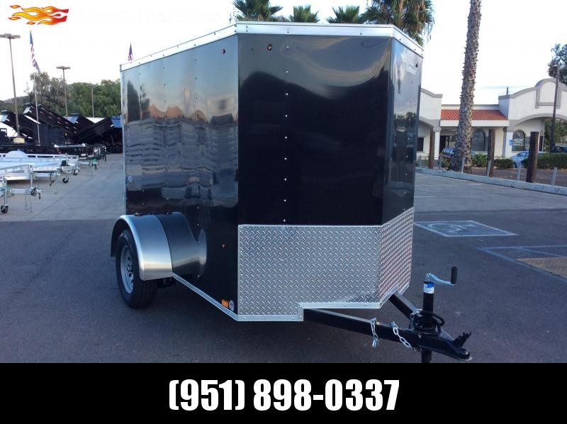 2020 Look Trailers STVLC 5' X 8' Single Axle Enclosed Cargo Trailer