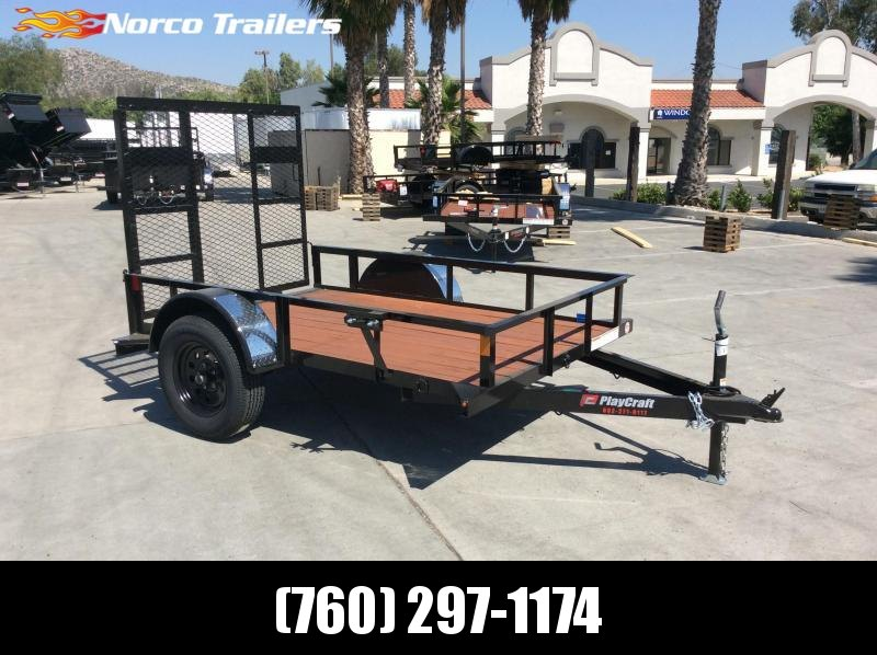 2020 Playcraft 5' x 8' Single Axle Utility
