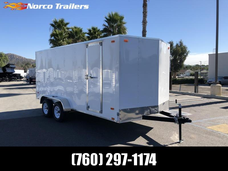 2021 Look Trailers Equinox 7' x 16' Tandem Axle Enclosed Cargo Trailer