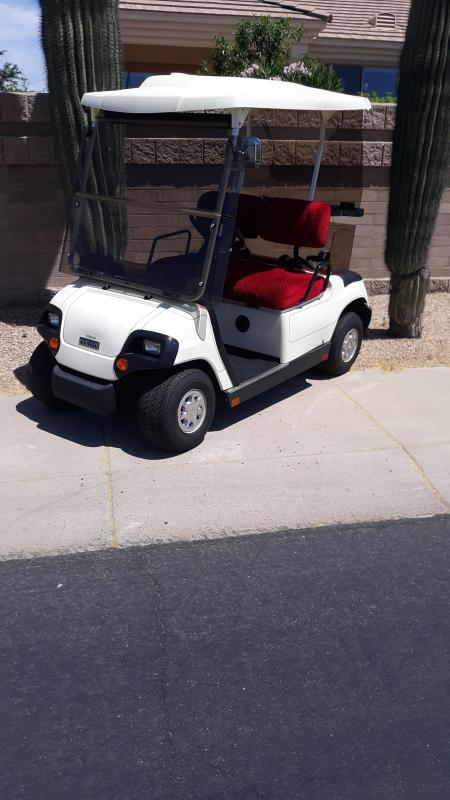 2000 Yamaha G19 Golf Cart