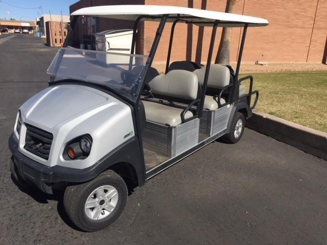 2016 Club Car Transporter 6-passenger flip Golf Cart