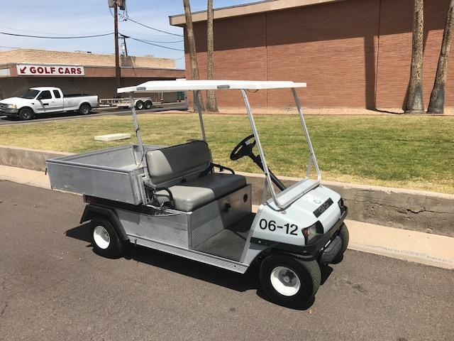 2006 Club Car Carryall 2 Cargo Box Golf Cart