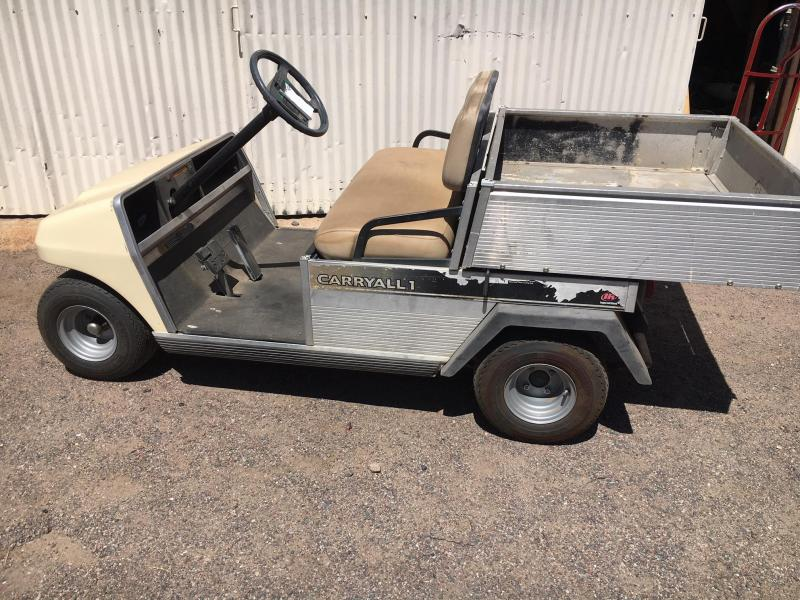 2003 Club Car Carryall 1 cargo box Golf Cart