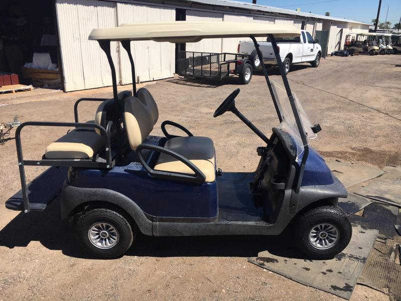 2017 Club Car Precedent 4-passenger flip Golf Cart
