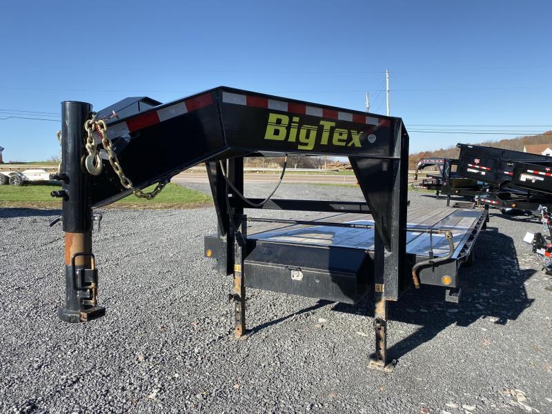 "2018 Big Tex Trailers 102"" x 20' + 5' Single Wheel Tandem Axle Gooseneck"