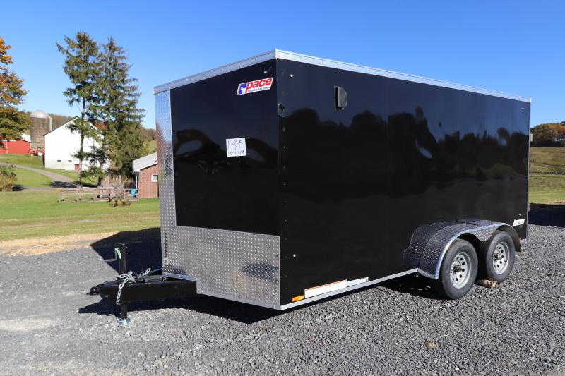 2020 Pace American 7' x 14' Journey SE Cargo Enclosed Trailer