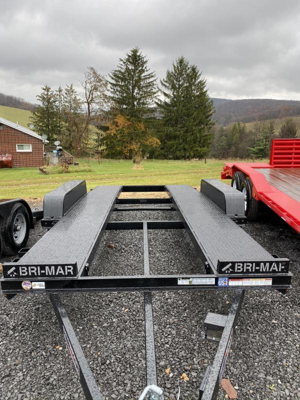 "2020 Bri-Mar 16' x 82"" Open Car Hauler Car / Racing Trailer"