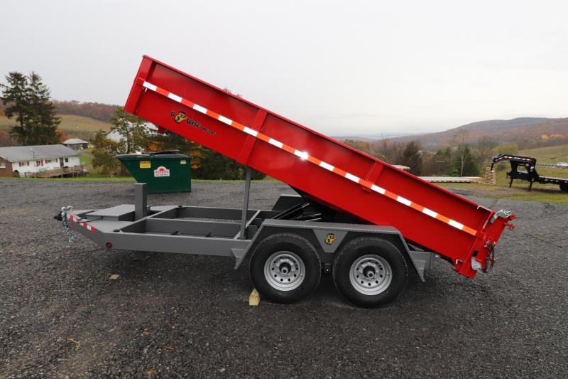 "2020 B-Wise 14' x 82"" Heavy Duty Dump Trailer"