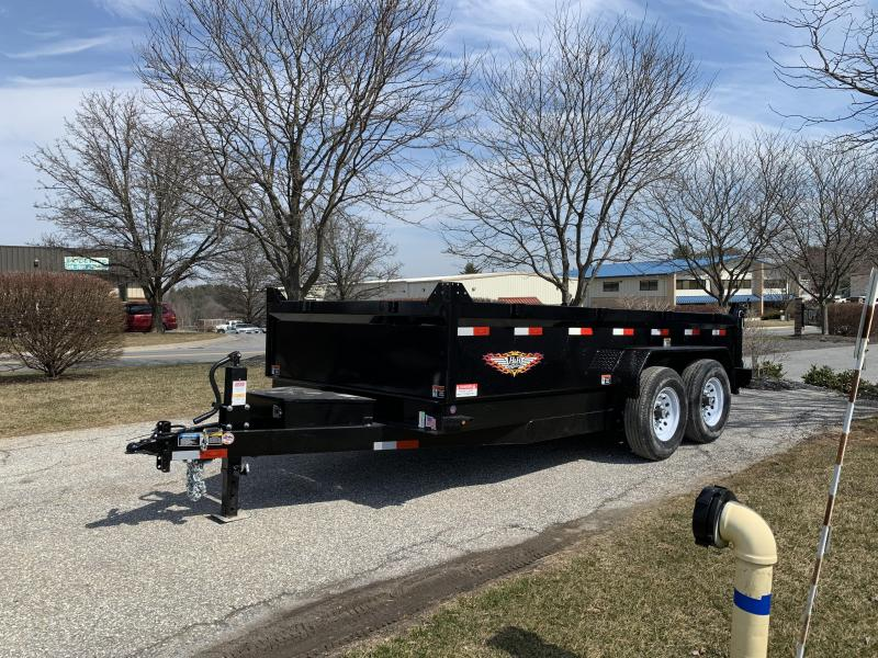 "2019 H and H Trailer 14' x 83"" DB Industrial Dump"