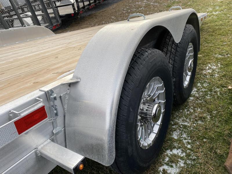 "2019 H & H 20' x 82"" Aluminum Car / Racing Trailer"