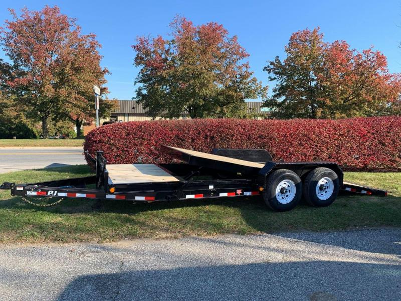 2020 PJ Trailers 20 x 6 Equipment Equipment Trailer