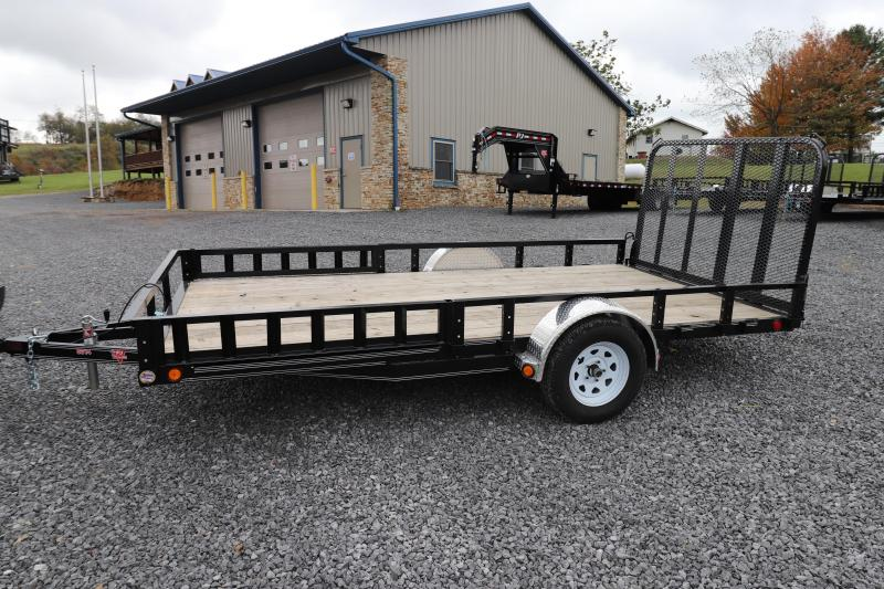 "2020 PJ Trailers 14' x 83"" Single Axle Channel Utility Trailer"