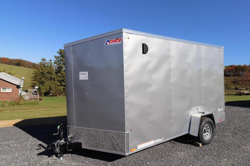 2020 Pace American 7' x 12'  Outback DLX Enclosed Cargo Trailer