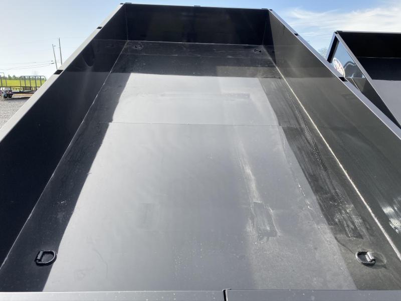 """2020 Bri-Mar 81.5"""" x 14' LPLE 14K Tandem Dump Trailer"""