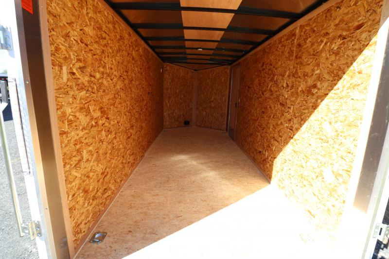 2020 Pace American 7' x 16' DLX Enclosed Cargo Trailer