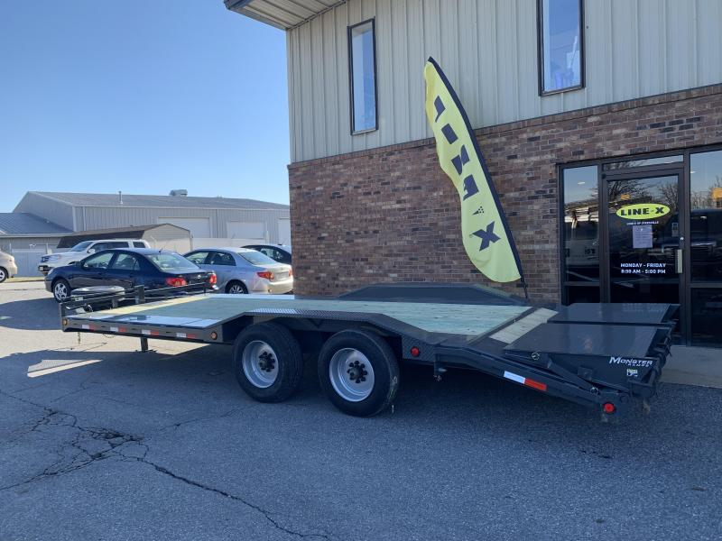 "2019 PJ Trailers 22' x 10"" Pro-Beam Super-Wide Equip Trailer"