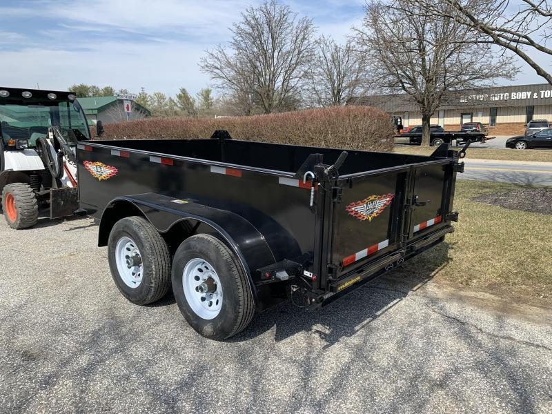 "2019 H and H Trailer 12' x 76"" Utility Dump Trailer"