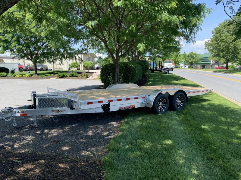 "2019 H and H Trailer 20' x 82"" Electric Aluminum Speedloader Tilt Car / Racing Trailer"