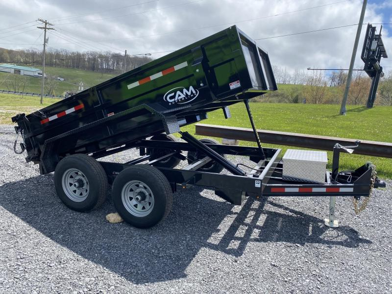 2020 Cam Superline 6' x 10' Tandem Axle Dump Trailer w/ Ramps