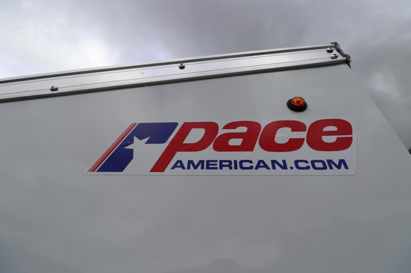 """2020 Pace American 6' x 12""""  DLX Enclosed Cargo Trailer"""