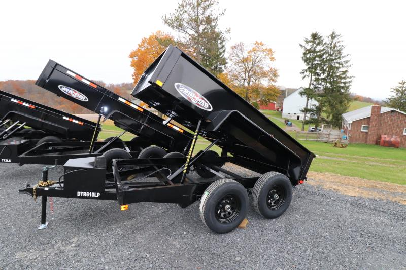 2020 Bri-Mar 6' x 10' R Series Dump Trailer