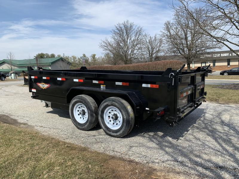 """2019 H and H Trailer 14' x 83"""" DB Industrial Dump"""