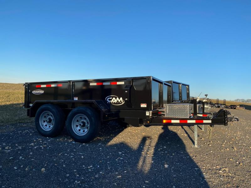 2020 Cam Superline 6' X 10' 10-610LPDT Low Profile Dump Trailer