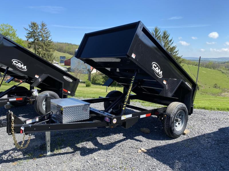 2020 Cam Superline 5' x 8' Single Axle Dump Trailer