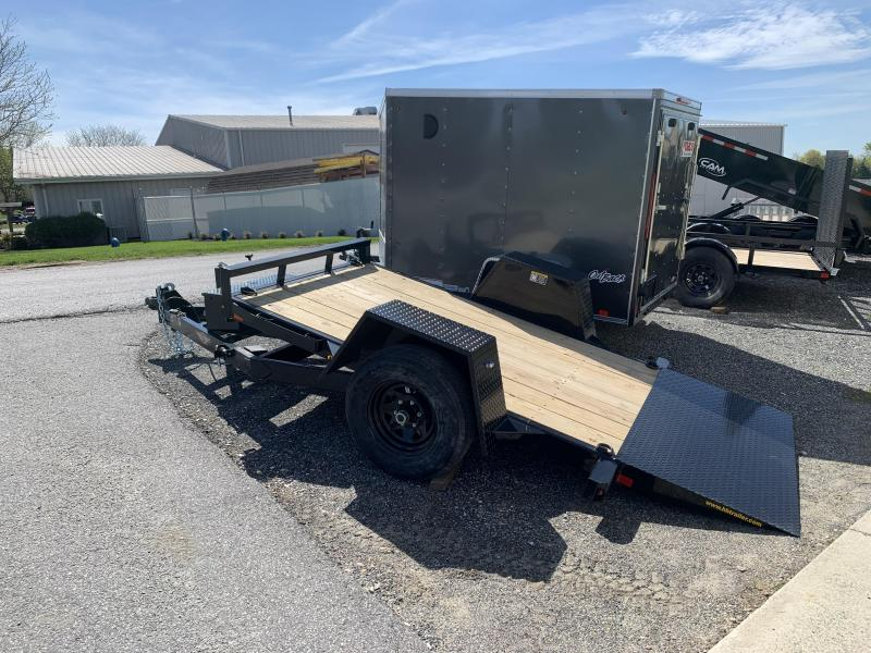 "2020 H and H Trailer 10' x 62"" Single Axle Tilt Trailer"